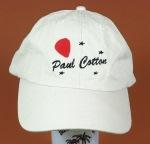 Paul Cotton Cap - Off-White/White