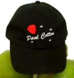 Paul Cotton Cap - Black