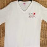 Women's V-neck Paul Cotton-Fadden Cruise CREW T-Shirt
